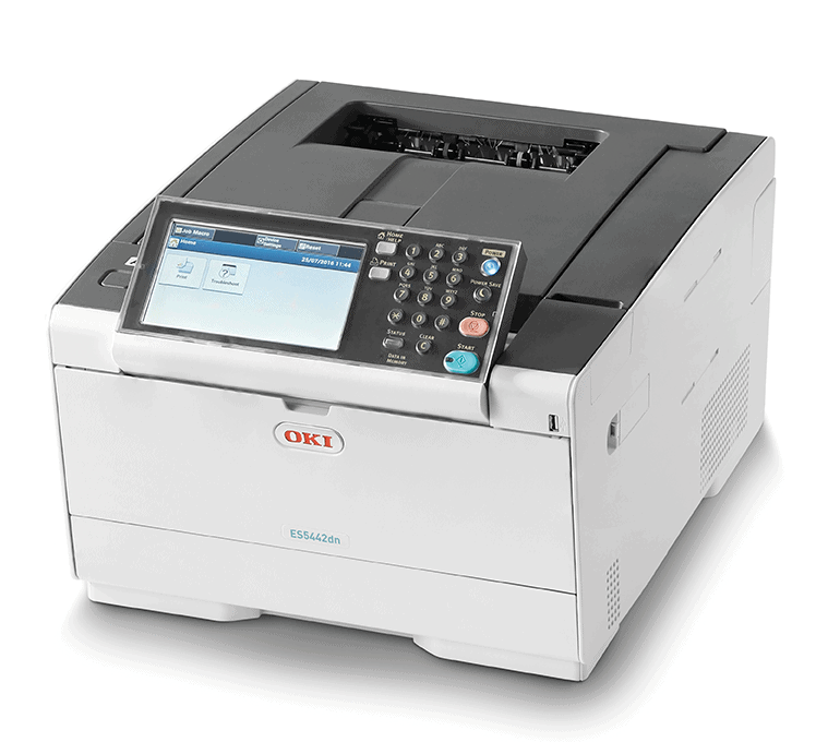 ES5442dn printer and scanner