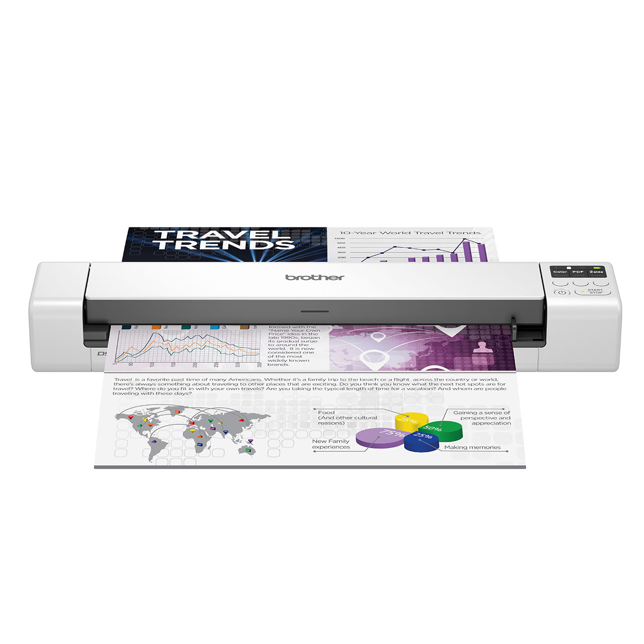 Brother DS-940DW Portable Document Scanner