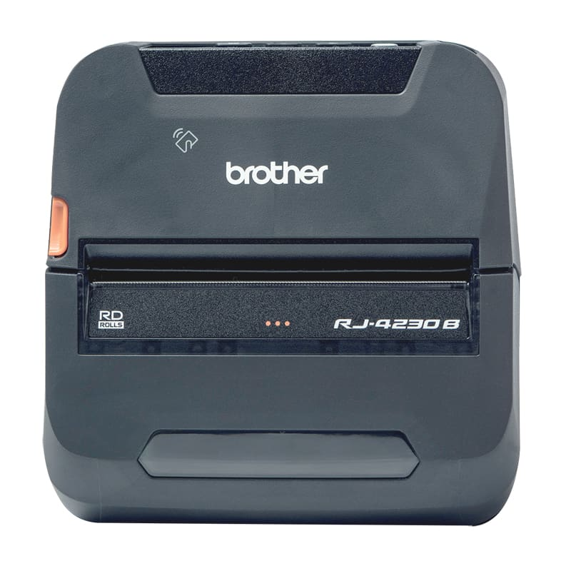 Brother RJ-4230B Portable Printer Bundle-Pack