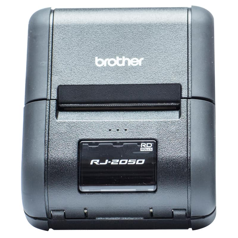 Brother RJ-2050 Portable Receipt Printer Bundle-Pack