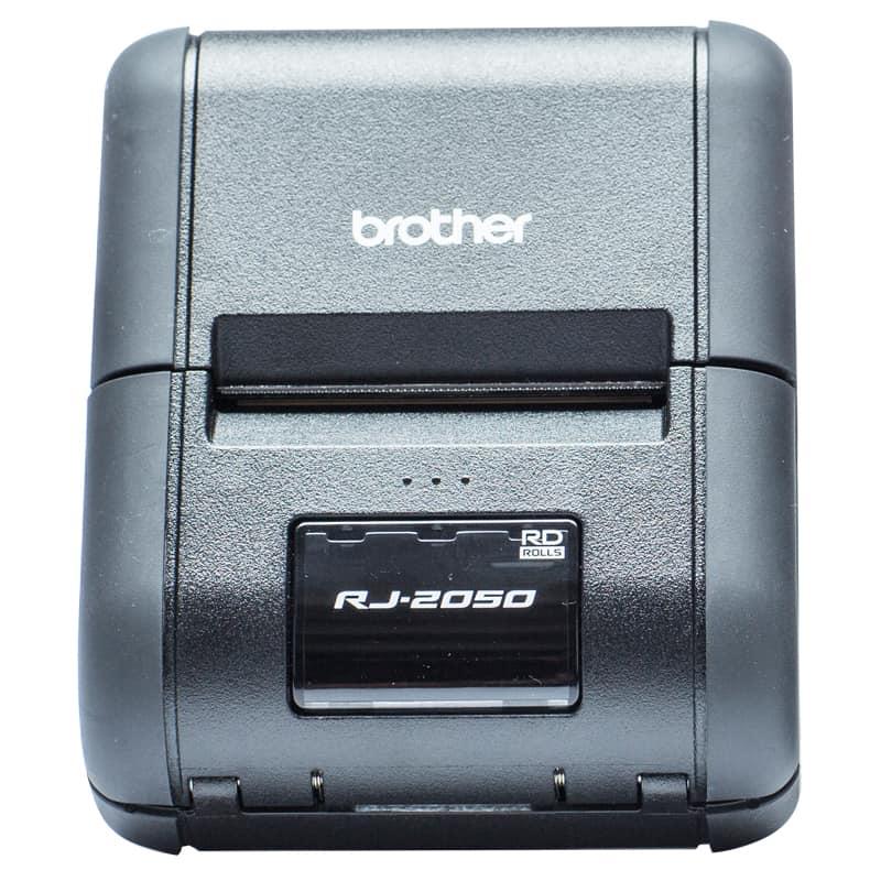 Brother RJ-2050 Portable Receipt Printer Bundle-Pack