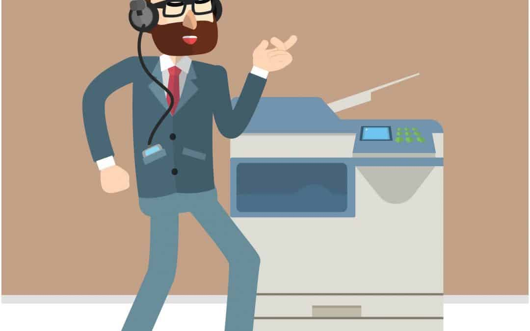 Maximising the use of your copier at work or if you're still working from home